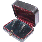 Antique Victorian Jewelry Box for Earrings