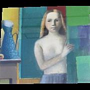 The Girl next Door by Elena Zolotnitsky oil painting