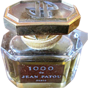 Jean Patou 1000 Factice French Perfume Bottle & Box
