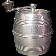 Marlux French Barrel Sterling Pepper Mill