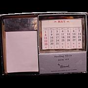 Vintage Sterling Silver Desk Set  New Old Stock