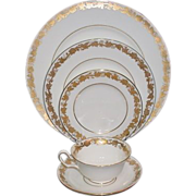 Wedgwood Whitehall China  Place Setting