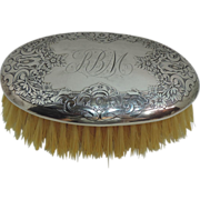 Vintage Sterling Silver Clothes Brush