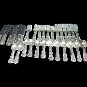 Fine Arts Sterling Silver Flatware Southern Colonial Pattern