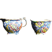 Royal winton Grimwades Chintz Creamer and Sugar Set