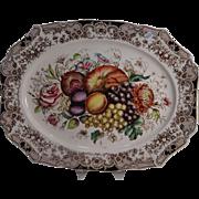 Vintage Johnson Brothers Harvest Large Turkey Platter