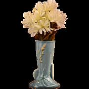 Roseville Pottery 1948 Blue Wincraft Bud Vase 281-6