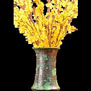 Weller Pottery Late 1920's Coppertone Vase