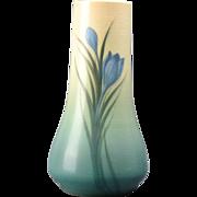 Rookwood Pottery 1914 Crocus Flowers Vellum Vase Carl Schmidt #1278