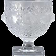 Lalique Crystal Elisabeth Vase