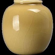 Rookwood Pottery Vase,  Beige Round (Shape #6183F), 1944