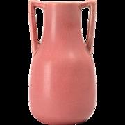Rookwood Pottery Vase Pink Bud 2 Handle (Shape 2562), 1929