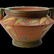 Roseville Pottery Vase Art Deco Futura Jardiniere Planter Pot #616-11, 1928