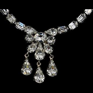 SALE Eisenberg Swarovski Crystal Necklace