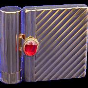 Helena Rubinstein Gold-tone Loose Powder Vanity Case Compact