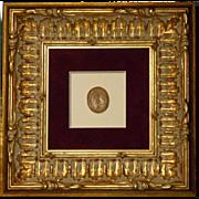 Framed Antique Grand Tour Intaglio #3