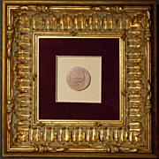 Framed Antique Grand Tour Intaglio #5
