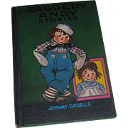 Raggedy Andy Stories by Johnny Gruelle HB c1948 1960 printing