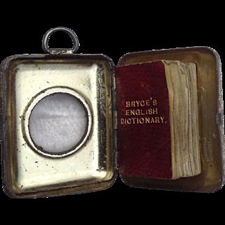 Miniature Bryces English Dictionary in original Box