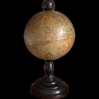 Very Rare 19thC miniature FRENCH Globe