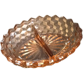Fostoria American Whitehall Divided Serving Bowl