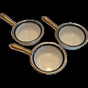Vintage Limoges Ramekins with Handles