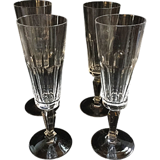 Four Champagne Flutes Villeroy & Boch Savoy