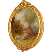 SOLD Little Red Riding Hood, by Alfred Joseph Woolmer, RBA