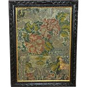 SALE Mid-18th Century Woven Silk Fabric