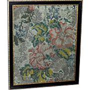 SALE Circa 1750 Woven Silk Fabric