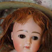 """REDUCED 14"""" tall Round Face Kestner Doll, Closed mouth, compo body, Pretty face! Great dr"""