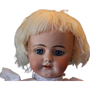 """SALE CLearance Priced!!  22"""" Simon Halbig German Antique #719 doll, Great smiling face, w"""