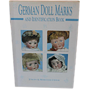 SOLD Book: German Doll Marks and Identification Book, by Jurgen & Marianne Cieslik. Softcover