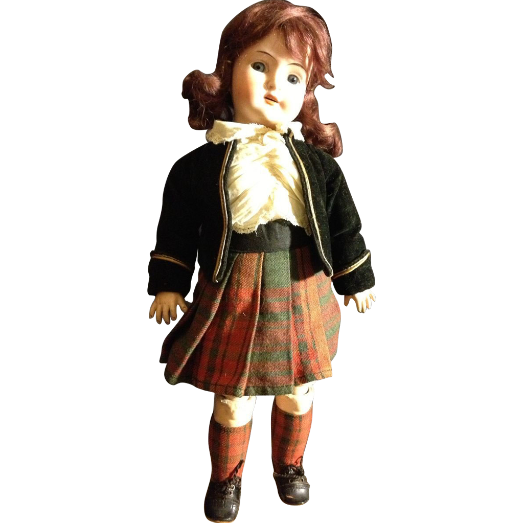 "Schoenau & Hoffmeister 14"" highlander Girl, all original"