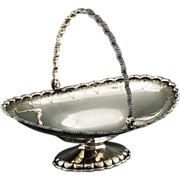 Antique c.1854 American Tiffany & Co New York NY sterling silver fruit Basket