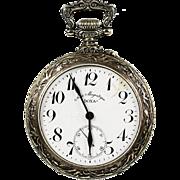 Antique c.1906 Swiss Doxa open face pocket watch