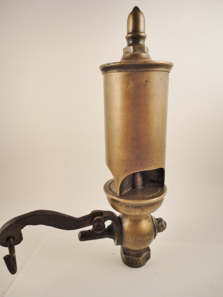 Crosby 1870 S Brass 3 Chime Train Steam Whistle From