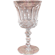 Exquisite Waterford Ireland Crystal Royal Tara Claret Wine Goblet 6 3/8""