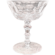 """Exquisite Waterford Ireland Crystal Royal Tara Champagne Sherbet Glass 5 3/8"""""""