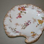 Antique Royal Crown Derby Floral Gilt Serving Plate