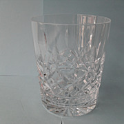 Waterford Lismore Crystal Double Old Fashioned Glass