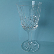 Timeless Waterford Lismore Crystal Stemmed Glass 5 1/8""