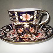 Royal Crown Derby 2451 Imari Teacup and Saucer