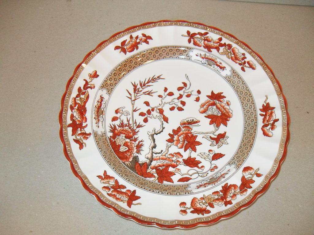 Copeland Spode Porcelain India Tree Dinner Plate From Misssmithvt On Ruby Lane
