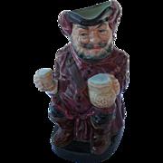 Vintage Royal Doulton Falstaff Toby Jug Pitcher 8328A