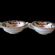 Royal Crown Derby Imari 4464 Cream Soup Bowls (2) Plummer New York