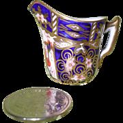 Antique Royal Crown Derby Imari 2451 Miniature Pitcher Creamer 1911