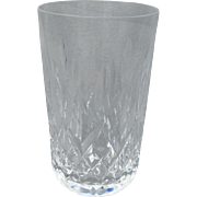 """Exquisite Brilliant Waterford Lismore Glass Crystal 4 1/2"""" Tumbler"""