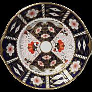 Royal Crown Derby 2451 Imari Handled Cake Plate