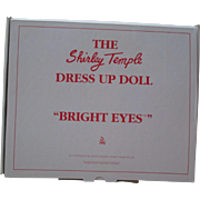 """Shirley Temple Outfit For you 16"""" Doll From Danbury Mint - Bright Eyes."""